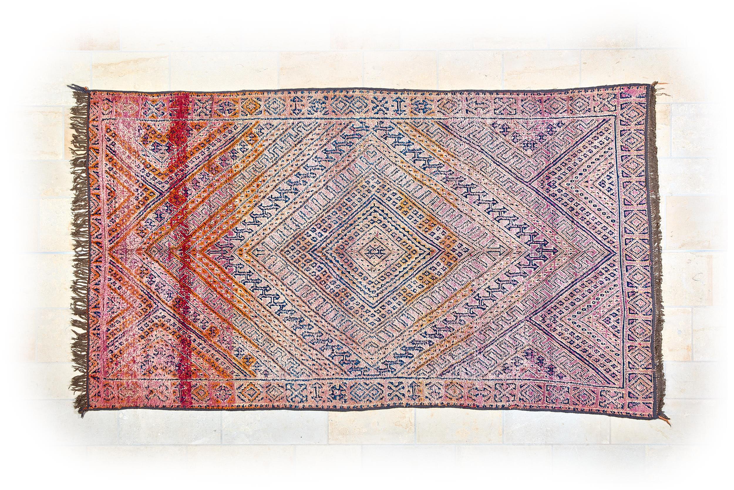 Marokkanischer Berberteppich - Beni Mguild - VERKAUFT