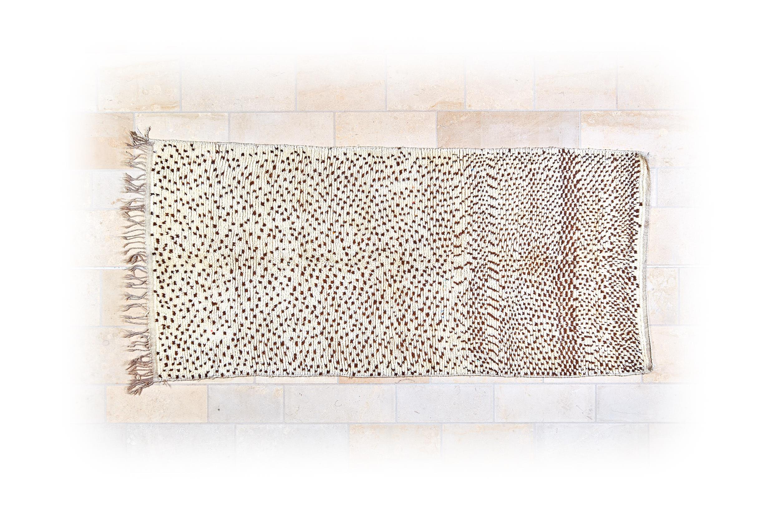 Marokkanischer Berberteppich - Beni Ouarain